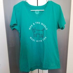 Life is Good Short Sleeve Shirt Medium